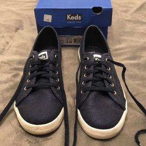 Keds 9M Navy blue Fashion Sneakers